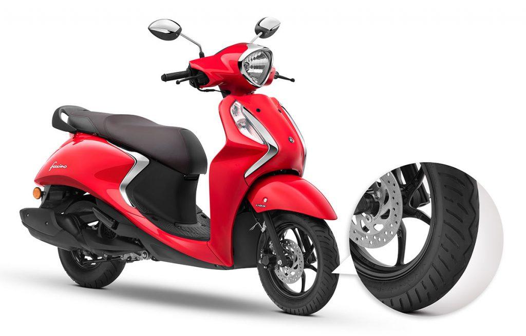Yamaha Fascino 125cc Maxxis Tyres. 2020 Fascino 125 Maxxis