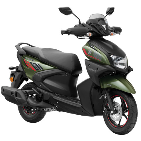 2020 Yamaha Ray-ZR Colors: Blue, Black, Green, Street ...