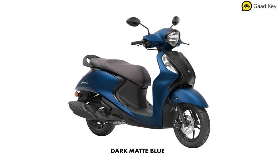 2020 Yamaha Fascino Sauve Copper Color option. New Fascino 125cc copper color