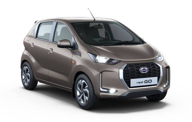 2020 Datsun Redigo Bronze Grey Color