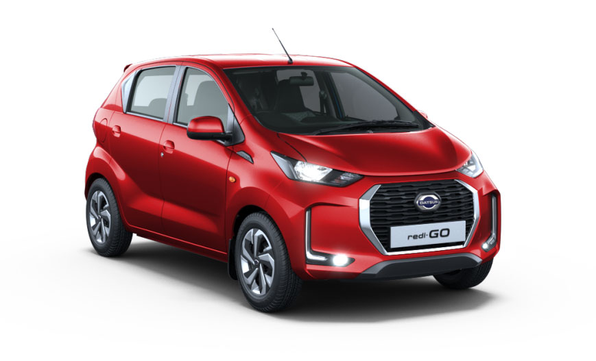 2020 Datsun Redigo Red Color