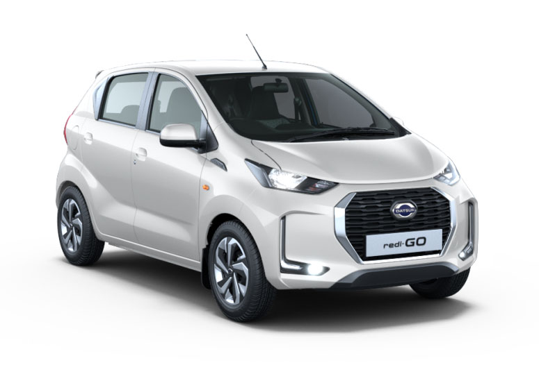 2020 Datsun Redigo White color