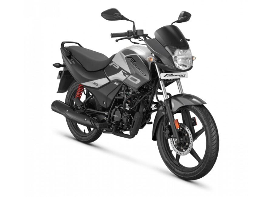 2020 Hero Passion Pro Grey Color BS6 model