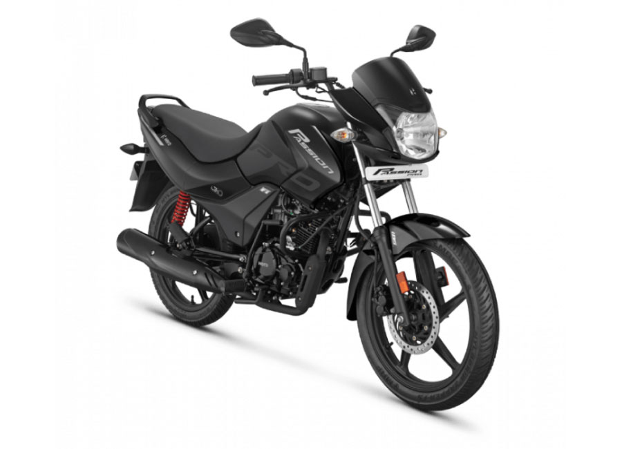2020 Hero Passion Black Color BS6