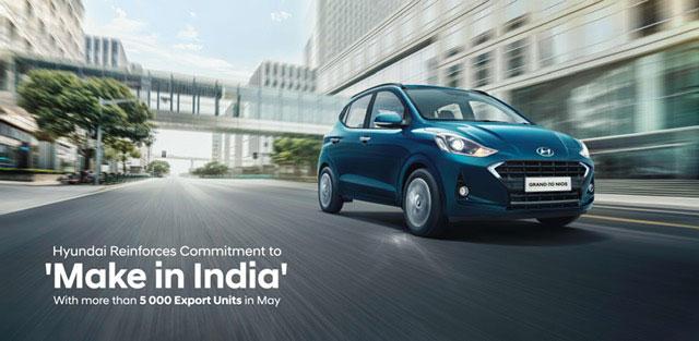 Hyundai India exports 5000 units in May 2020 - GaadiKey