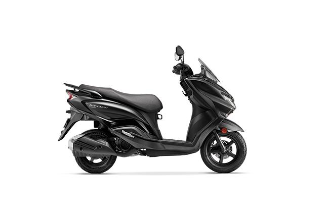 2020 Suzuki Burgman Street Black Color
