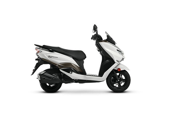 2020 Suzuki Burgman Street White Color BS6 model