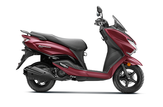 2020 Suzuki Burgman Street Red Color BS6 Model