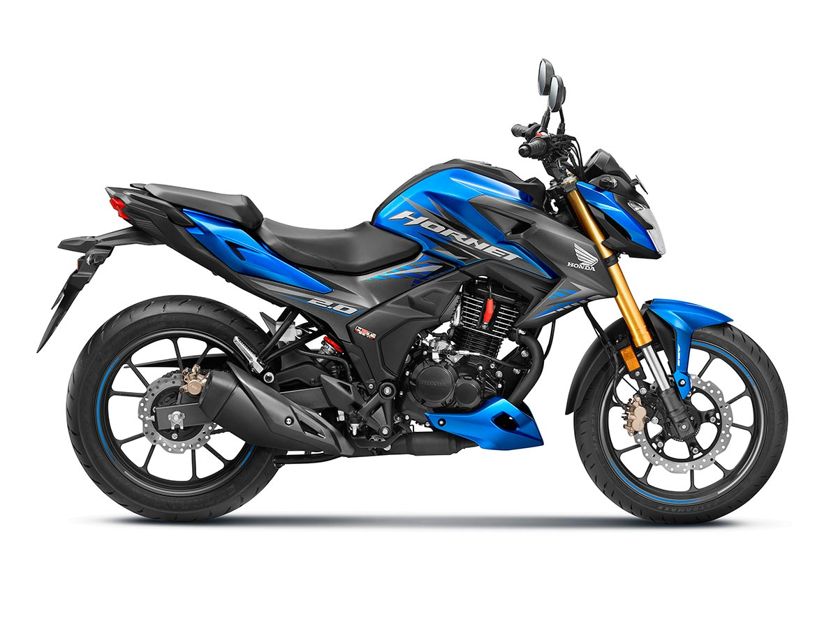 Honda Hornet 2.0 sub 200cc Motorcycle launched at Rs 1.26 ...