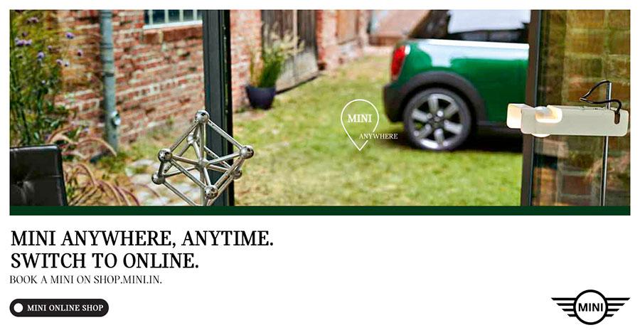Mini India Launches Mini Online Shop