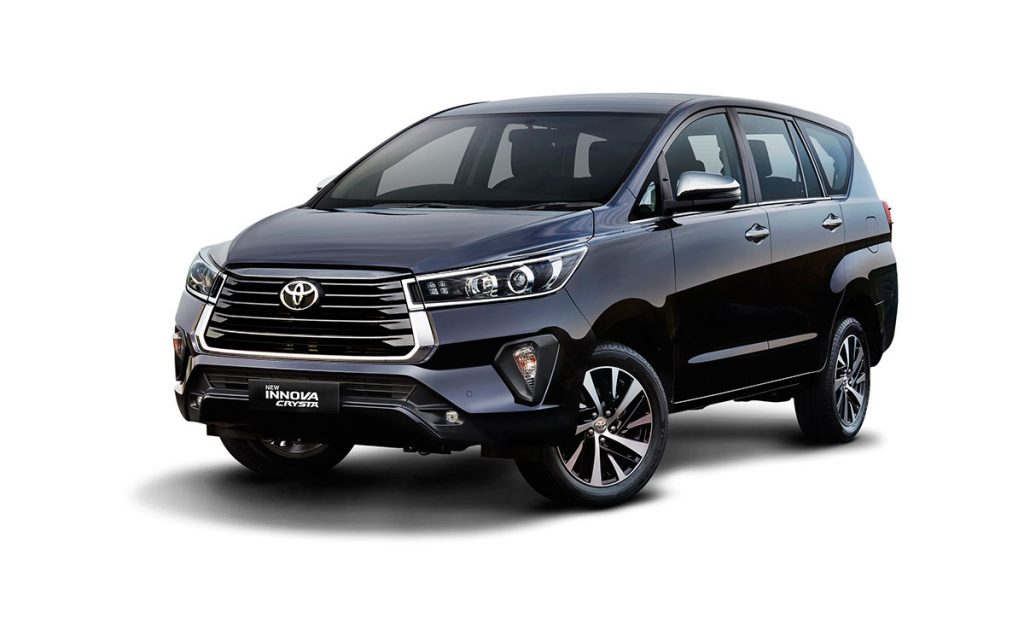New Toyota Innova Crysta launched at Rs. 16.26 lakhs