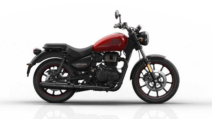 Royal Enfield Meteor Fireball Red Color