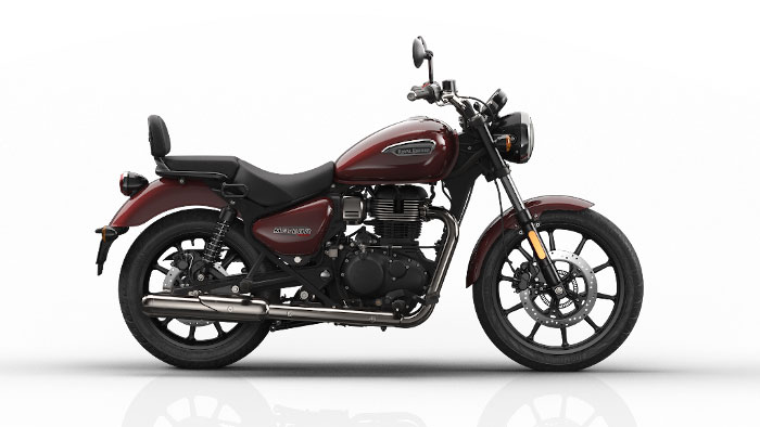 Royal Enfield Meteor Stellar Red Color