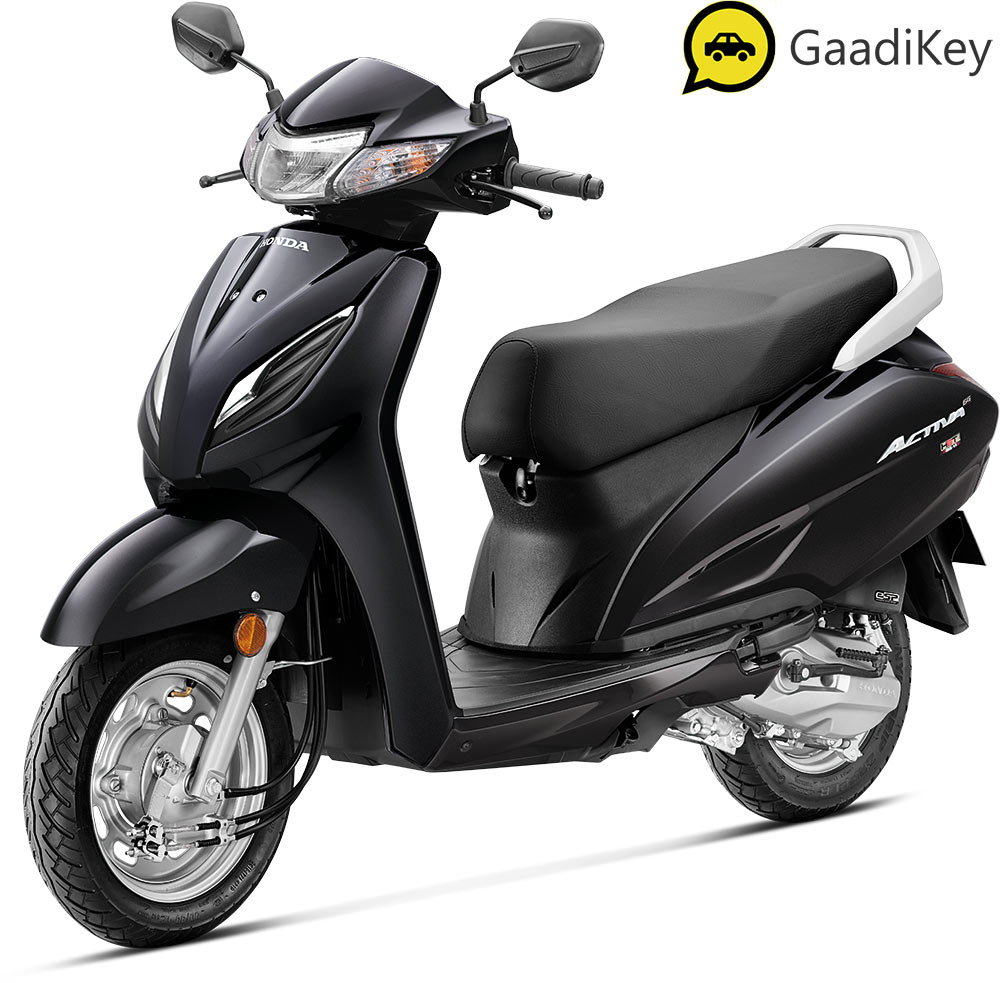 2021 Honda Activa 6G Black Color
