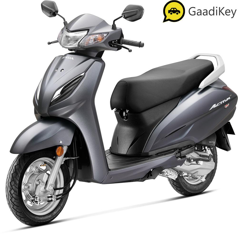 2021 Honda Activa 6G Grey Color
