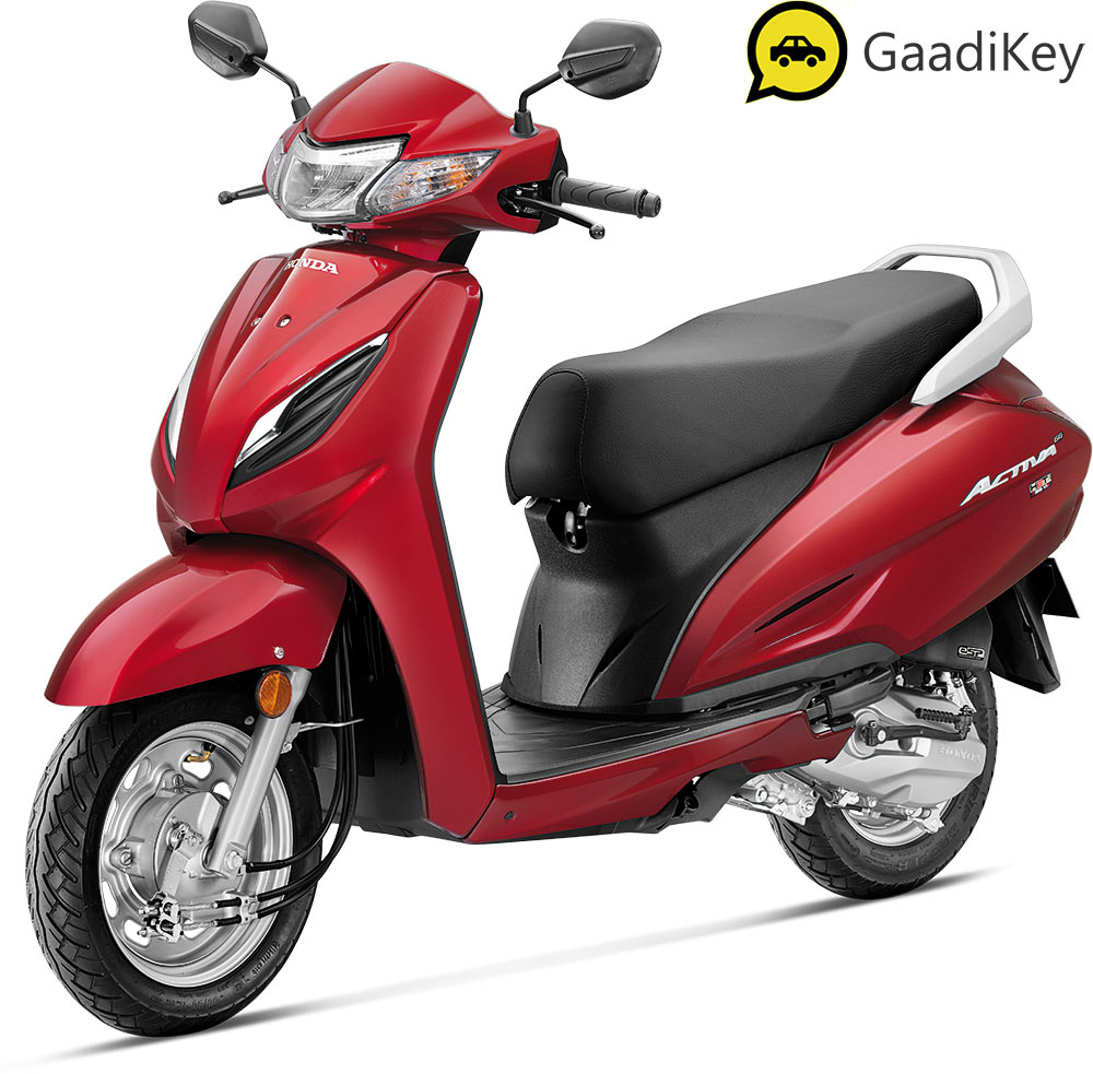2021 Honda Activa 6G Red Color