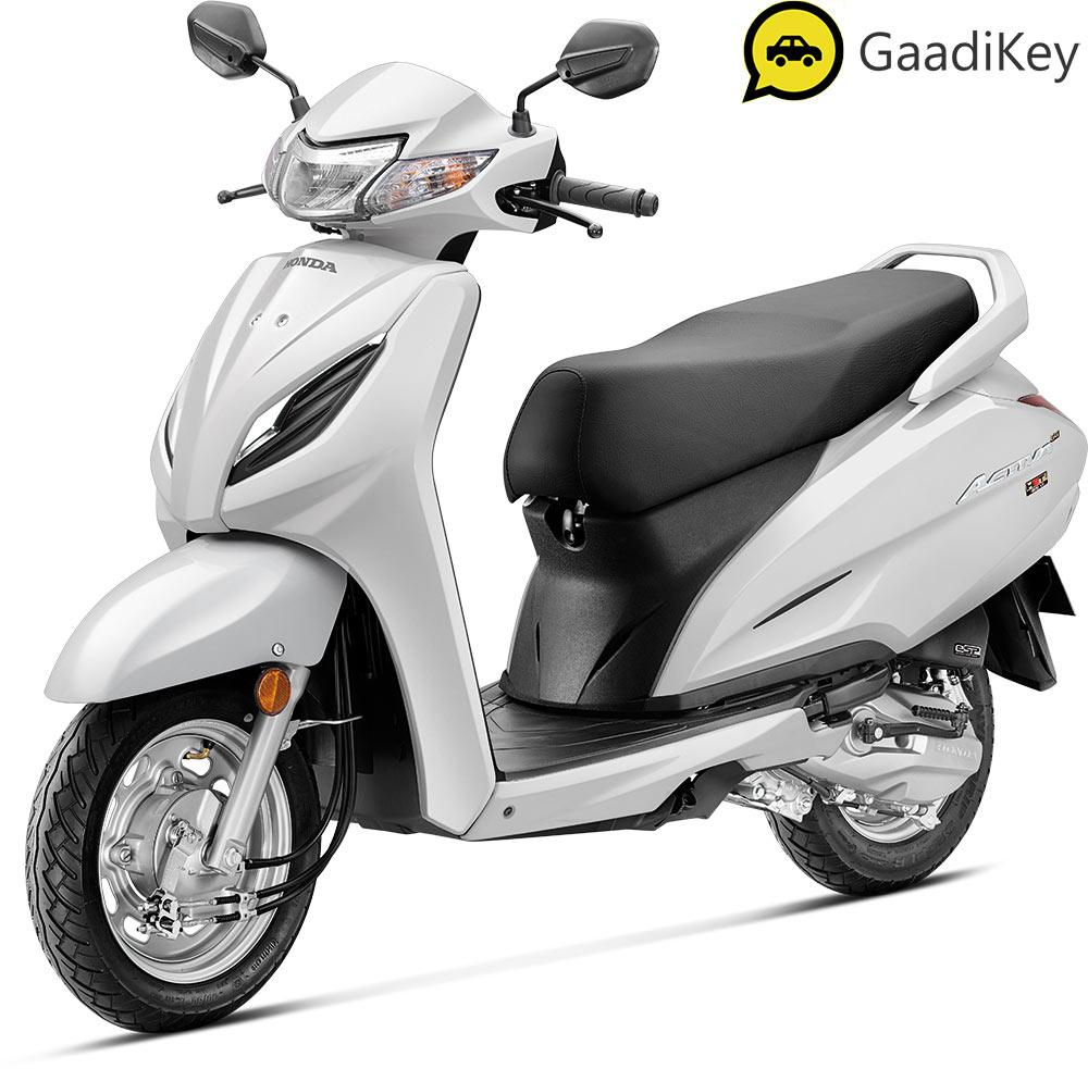 2021 Honda Activa 6G White Color