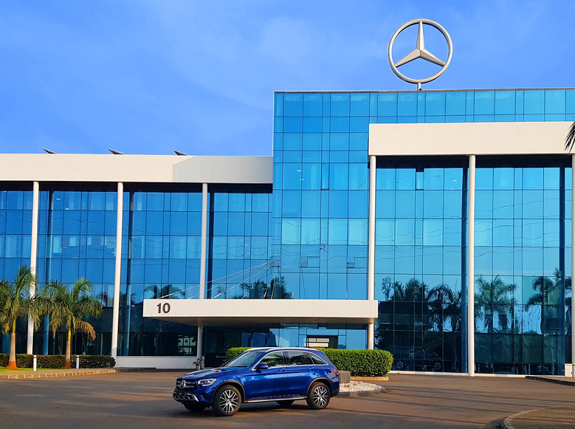 2021 Mercedes-Benz GLC 200 launched at Rs. 57.40 lakhs