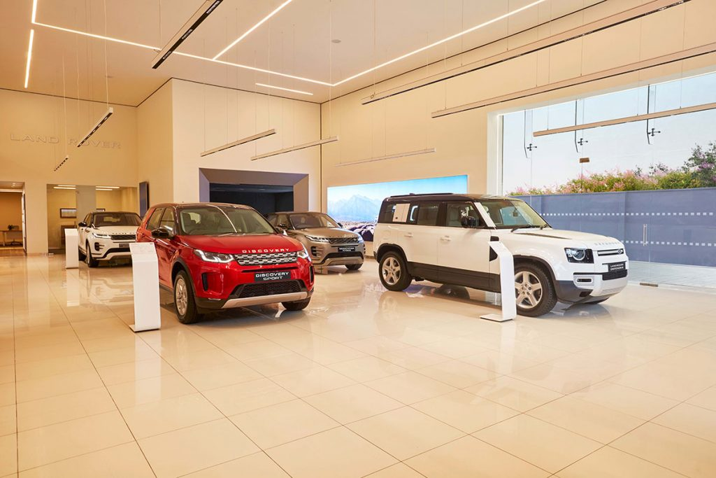 Shakti Auto Cars Jaguar Land Rover showroom opens in Bengaluru