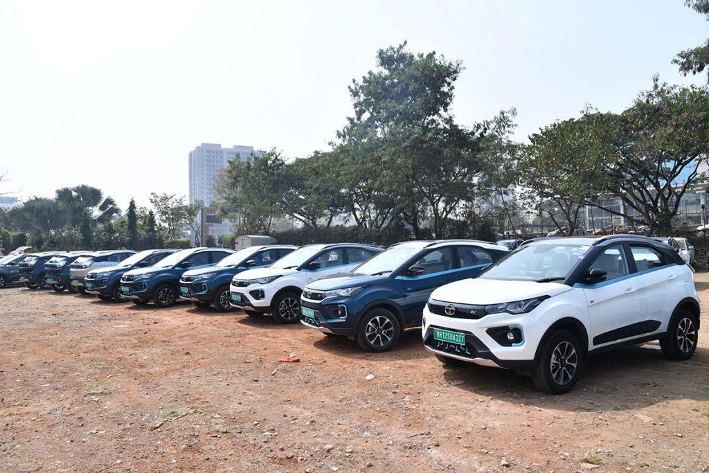 Tata Nexon EV 'Mileage Challenge Rally' in Pune