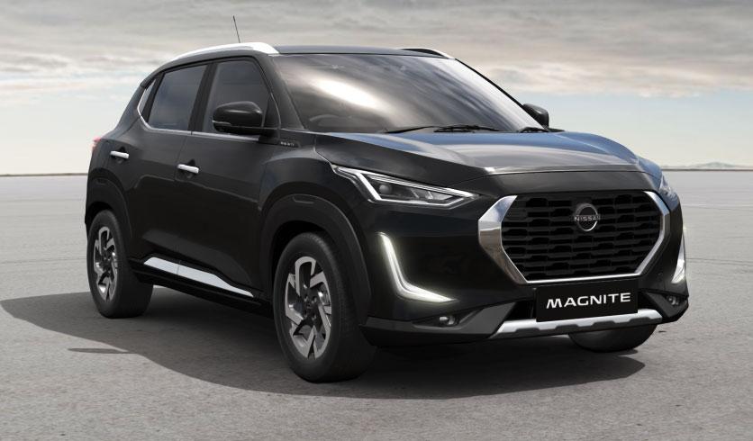 Nissan Magnite Black Color - Onyx Black