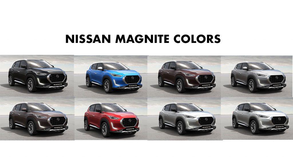 2021 Nissan Magnite Colors - All Nissan Magnite Color Options