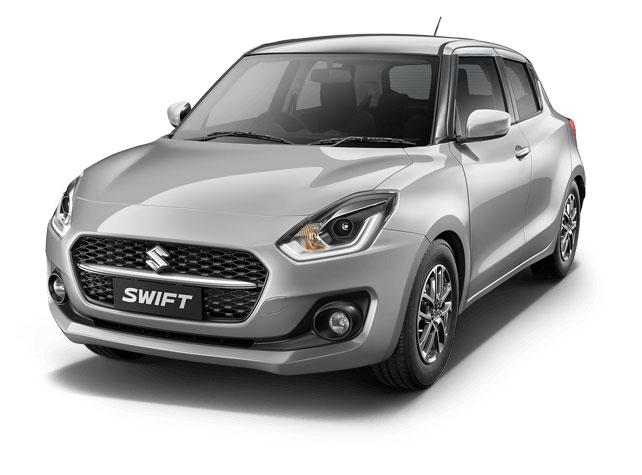 2021 Maruti Swift Metallic Silky Silver
