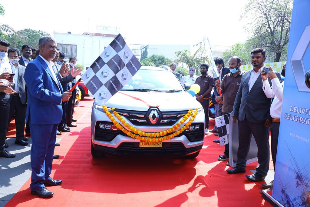 1100 units of Renault Kiger delivered on Day 1 of Sales commencement