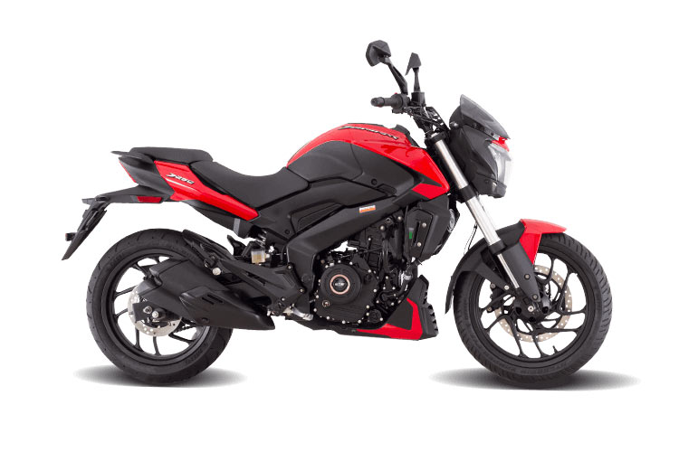 Bajaj Dominar 250 Red Color - New Dominar in Red color option