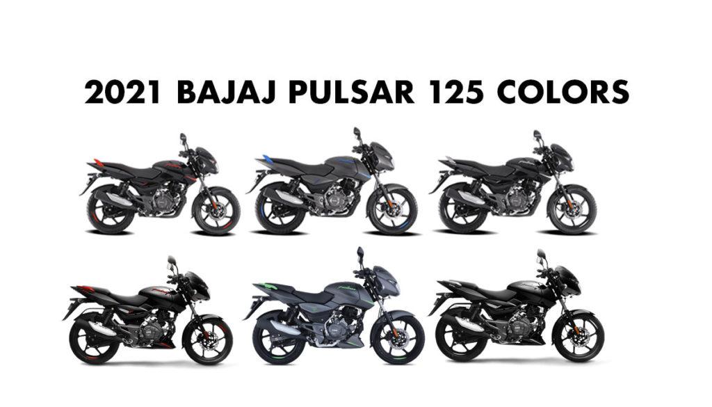 Bajaj Pulsar 125 Colors 2021 Model Pulsar 125 All Colors