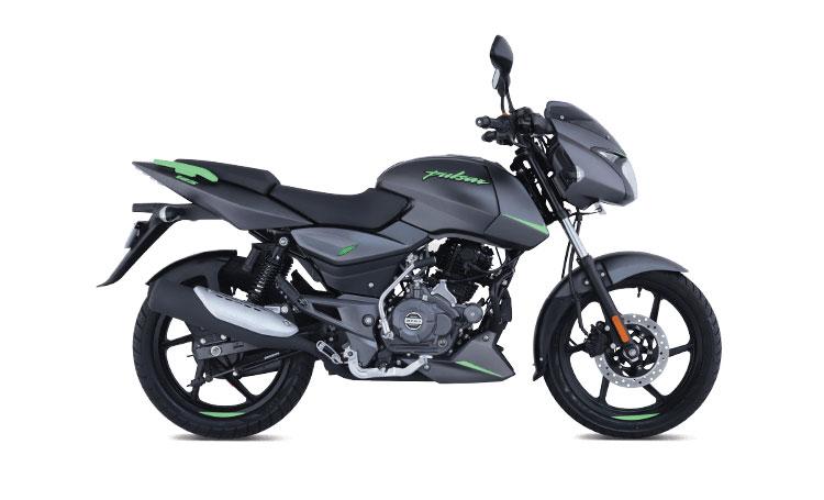 2021 Bajaj Pulsar 125 Green Color (Neon Green) Split seat version