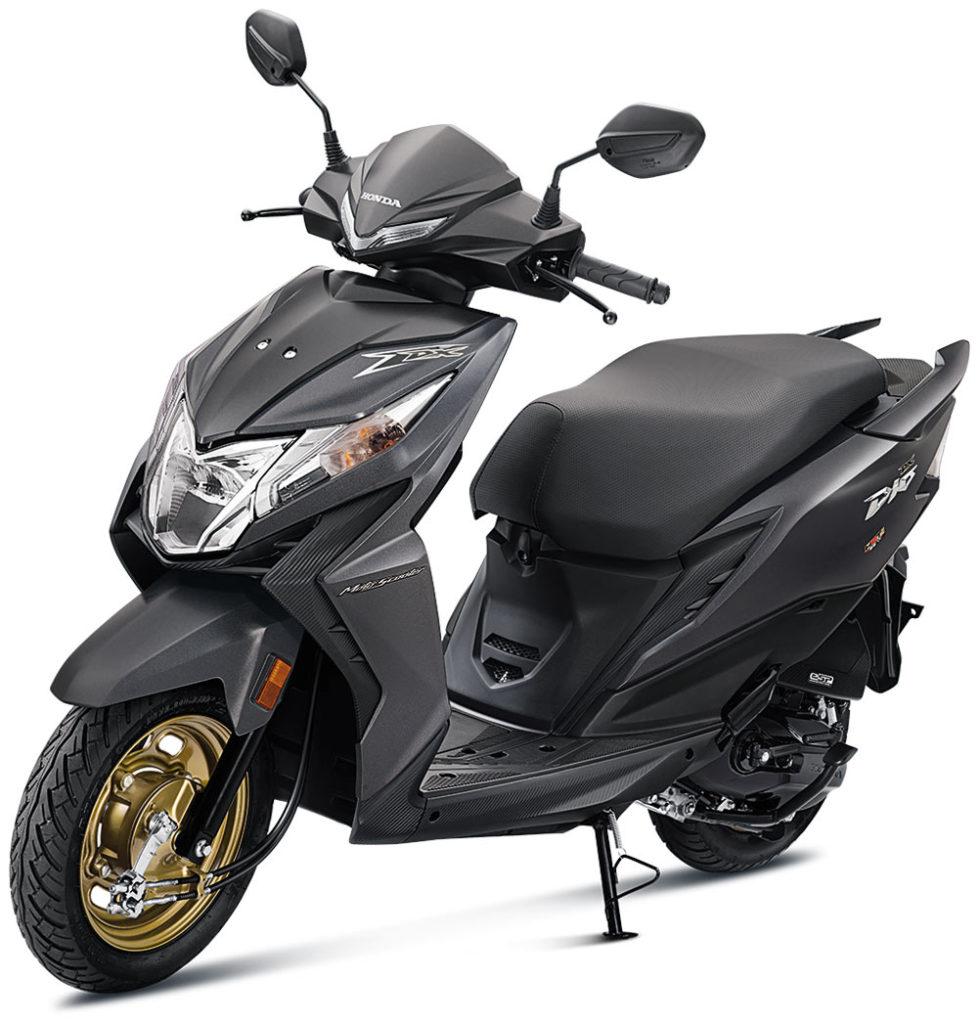 2021 Honda Dio Grey Metallic Deluxe variant
