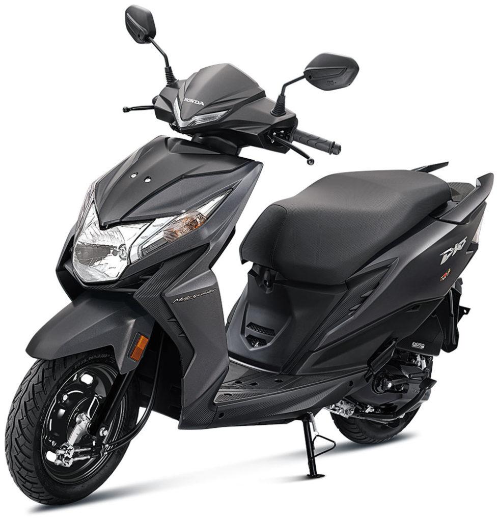 Honda Dio 2021 model Grey Color Standard option