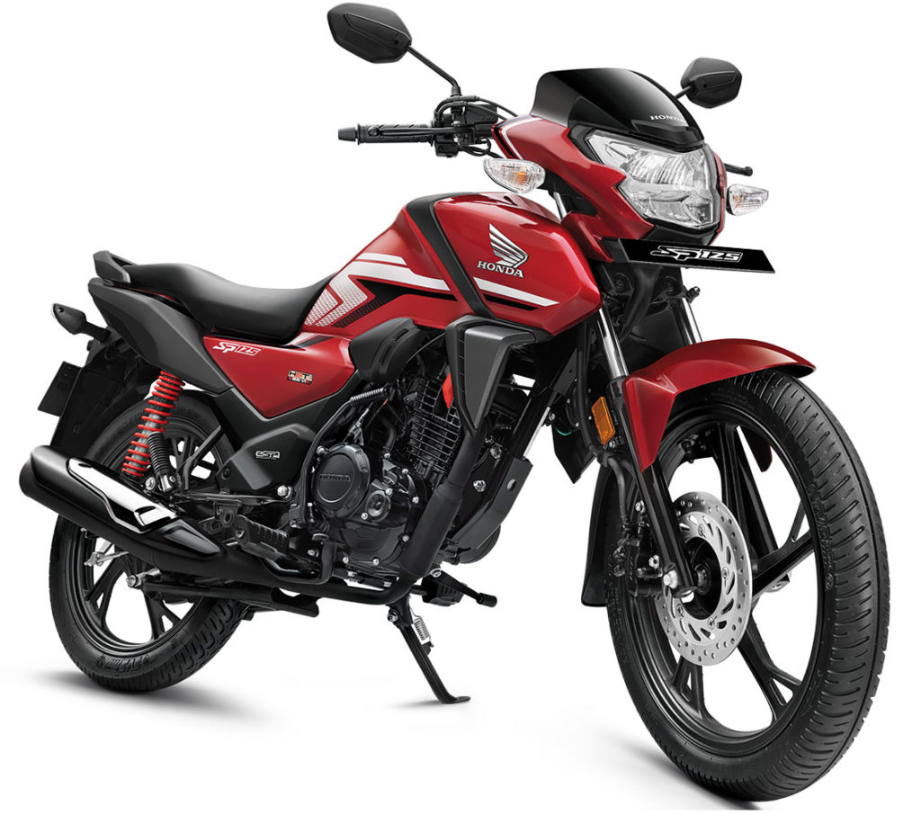 2021 Honda SP125 Red Color (Imperial Red Metallic)