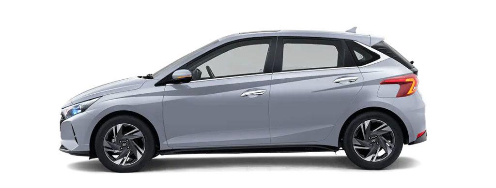 2021 Hyundai i20 Silver Color - Typhoon Silver