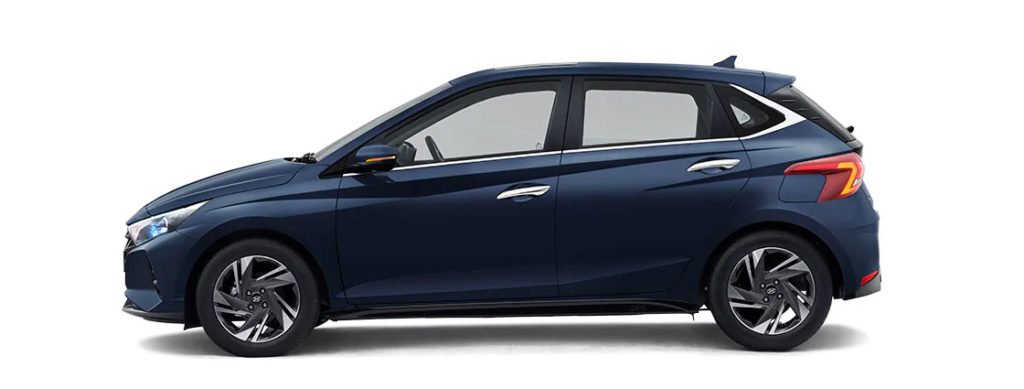 2021 Hyundai i20 Starry Night color option