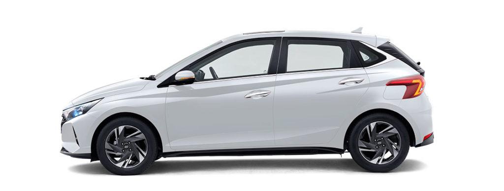 2021 Hyundai i20 White Color - Polar White Color option