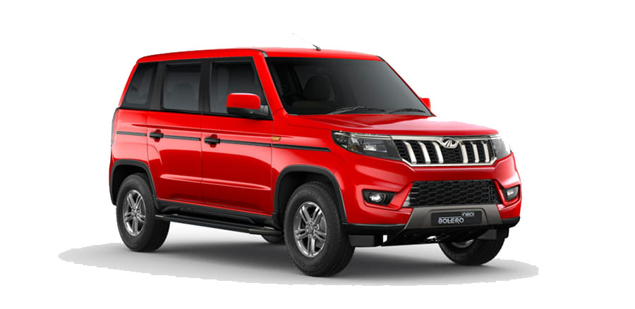 2021 Mahindra Bolero Neo Red Color - Highway Red color