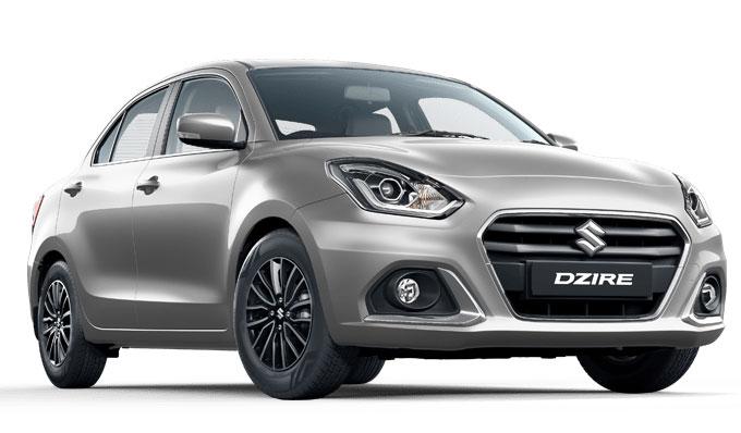 2021 Maruti Dzire Silver Color - New Dzire Premium SIlver color option