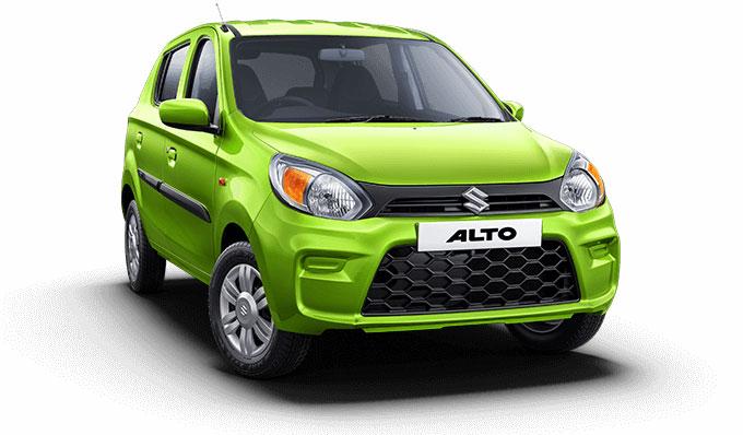 2021 Maruti Alto Green Color Mojito Green