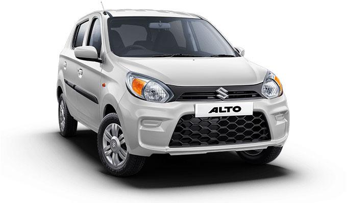 2021 Maruti Alto White Color Solid White Color option