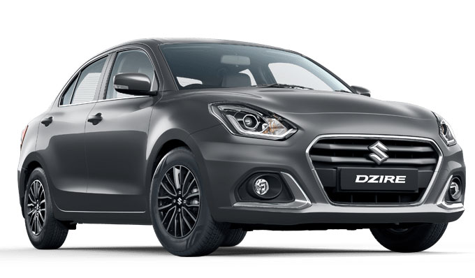 2021 Maruti Dzire Grey Color Magma Grey Color option