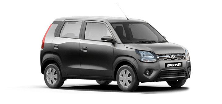 2021 Maruti WagonR Grey Color