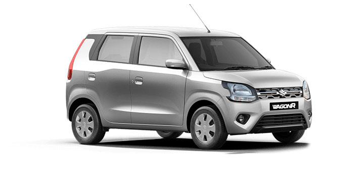 2021 Maruti WagonR Silver Color