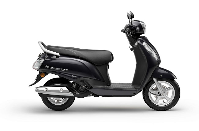 2021 Suzuki Access 125 Black Color Glass Sparkle Black