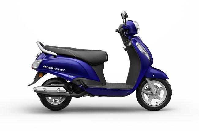 2021 Suzuki Access 125 Deep Blue Color Pearl Suzuki Deep Blue