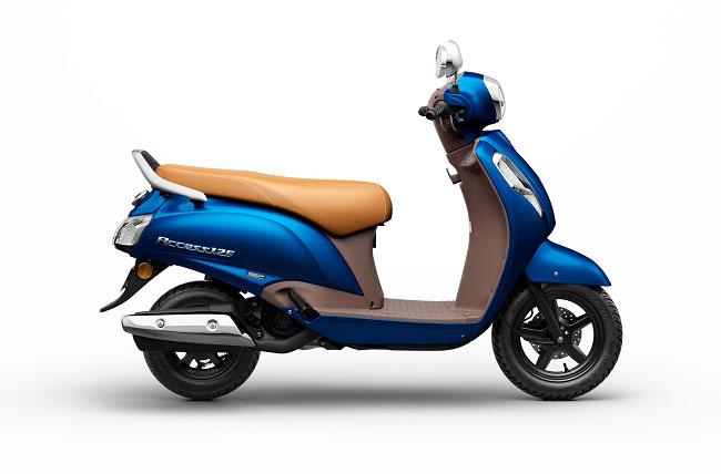 Suzuki Access 125 Metallic Dark Greenish Blue  Color Special Edition