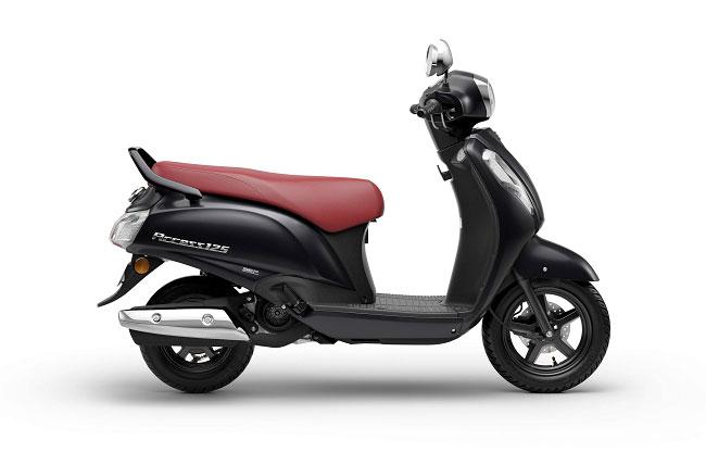 2021 Suzuki Access 125 Black Color Special Edition Metallic Matte Black