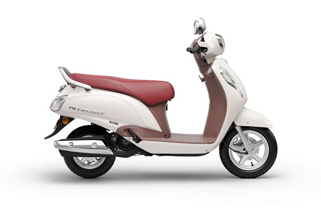 2021 Suzuki Access 125 White Color Special Edition Pearl Mirage White