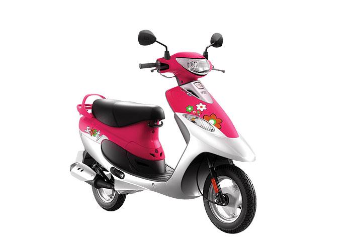 2021 TVS Scooty Pep+ Pink Color (Princess Pink)